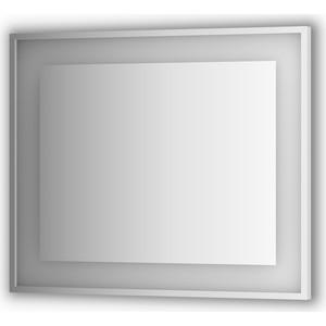 Зеркало в багетной раме поворотное Evoform Ledside со светильником 24 W 90x75 см (BY 2204)