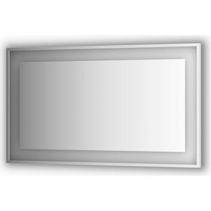 Зеркало в багетной раме поворотное Evoform Ledside со светильником 31,5 W 130x75 см (BY 2208)