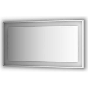 Зеркало в багетной раме поворотное Evoform Ledside со светильником 33,5 W 140x75 см (BY 2209)