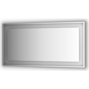 Зеркало в багетной раме поворотное Evoform Ledside со светильником 35,5 W 150x75 см (BY 2210)