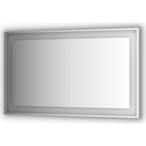 Зеркало в багетной раме поворотное Evoform Ledside со светильником 38 W 150x90 см (BY 2213)