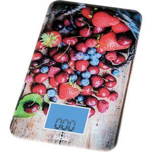 Весы кухонные BBK KS107G т-син/кр весы кухонные bbk ks130p