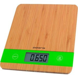 Весы кухонные Polaris PKS 0545D Bamboo кухонные весы polaris pks 1044dg