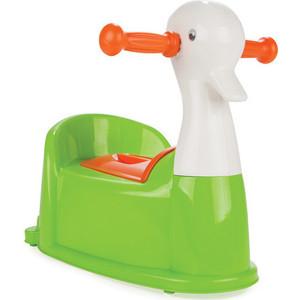 Горшок Pilsan Duck музыкальный цвет зеленый (07-531) детский горшочек кресло pilsan bobo цвет голубой 07 505