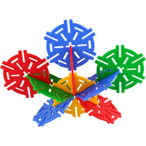 Конструктор Pilsan Magic Circles 60 деталей в пластиковой коробке (03-257) цена 2017