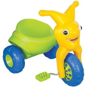 Велосипед трехколёсный Pilsan Clown в подарочной коробке цвет зелено-желтый (07-142)
