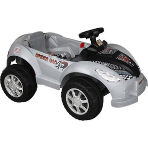 цены Электромобиль Pilsan Spider Серый корпус с черным капотом (05-105)