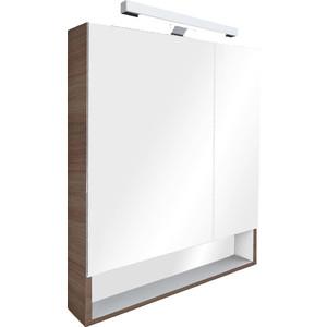 Зеркальный шкаф Roca Gap 70 тиковое дерево (ZRU9302845) цена