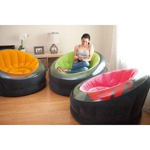 Надувное кресло Intex 68582 Empire Chair, 112х109х69см цена