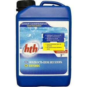 Жидкость HTH L801221HK шок без хлора, 3л