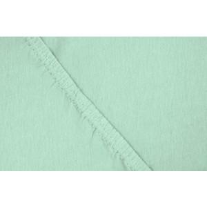 Простыня Ecotex трикотаж на резинке 160x200x20 см (4670016952059) простыня эго трикотаж на резинке 90x200 lime green э пр 01 31
