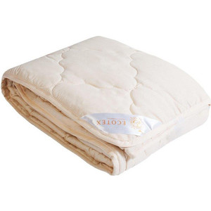 цена Полутороспальное одеяло Ecotex Золотое Руно облегченное 140х205 (4607132570874) онлайн в 2017 году