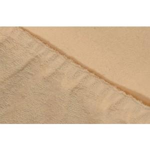 Простыня Ecotex махровая на резинке 140х200х20 см (4670016952240)