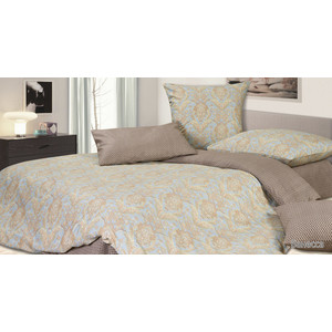 цена Комплект постельного белья Ecotex Семейный, сатин, Ванесса (4670016951113) онлайн в 2017 году