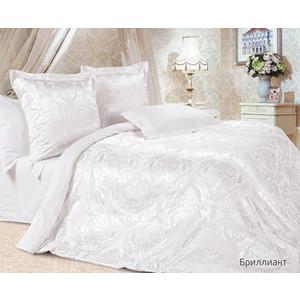Комплект постельного белья Ecotex 2-х сп, сатин-жаккард, Бриллиант (4670016950208) комплект постельного белья ecotex 2 х сп сатин эдельвейс кгмэдельвейс
