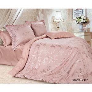 Комплект постельного белья Ecotex Евро, сатин-жаккард, Джульетта (4670016951298)