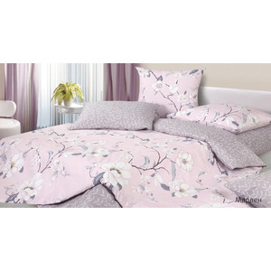 Комплект постельного белья Ecotex 1,5 сп, сатин, Марлен (4680017869751) комплект постельного белья ecotex 1 5 сп сатин хэмптон кг1хэмптон