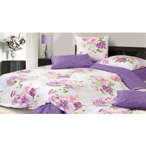 цена Комплект постельного белья Ecotex 1,5 сп, сатин, Дафни (4670016951588) онлайн в 2017 году