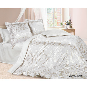 Комплект постельного белья Ecotex Семейный, сатин-жаккард, Джорджия (4670016951533)
