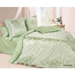 Комплект постельного белья Ecotex Евро, сатин-жаккард, Оливия (4670016951373)