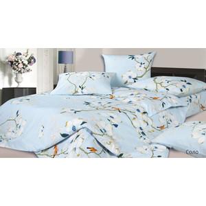 Комплект постельного белья Ecotex Евро, сатин, Соло (4680017869898)