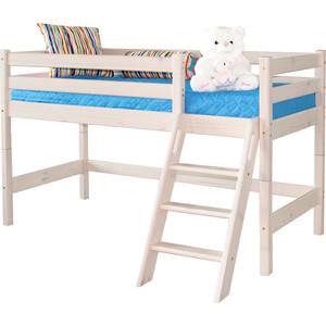 Детская кровать Мебельград Соня с наклонной лестницей вариант 12