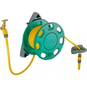 Катушка настенная Hozelock со шлангом Maxi Plus 15 мм 15м (2422P0000) катушка fiskars со шлангом 3 8 15м набор коннекторов