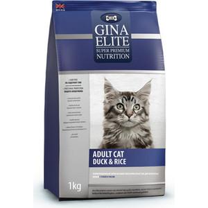 Сухой корм Gina Elite Adult Cat Duck & Rice с уткой и рисом для взрослых кошек 1кг (250000.0)