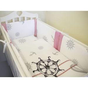 все цены на Комплект в кроватку By Twinz 6 пр. Морской Бриз КЛАССИКА онлайн