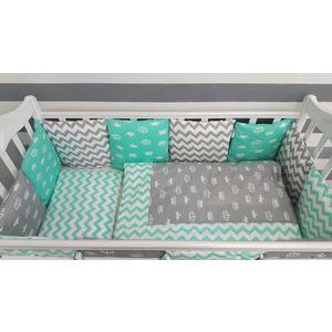 Комплект для круглой кроватки By Twinz Короны Мятные компливит кальций д3 30 таблетки мятные