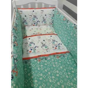 Комплект постельно белья By Twinz 3 предмета Веселый щенок