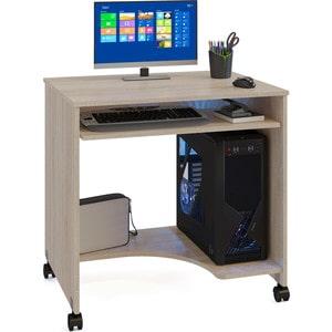 все цены на Стол компьютерный СОКОЛ КСТ-15 дуб сонома онлайн