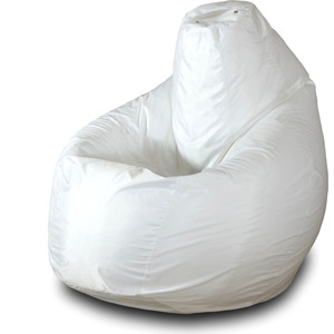 Кресло-мешок Груша Пазитифчик Бмо5 белый