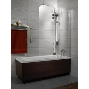 Шторка на ванну Radaway Torrenta PND 120/R прозрачное, хром, правая (201203-101NR) шторка на ванну radaway torrenta pnd 121 стекло графитовое l