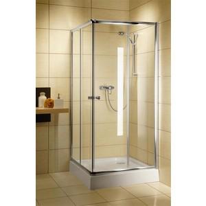 Душевой уголок Radaway Classic С 185, 80x80 (30060-01-01) стекло прозрачное недорго, оригинальная цена