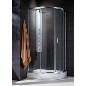 Душевой уголок Radaway Premium Plus E 190, 100x80 (30491-01-06N) стекло фабрик душевой уголок radaway premium plus e 1900 90x80 профиль хром стекло коричневое
