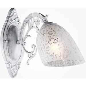 цены Бра Eurosvet 70039/1 белый с серебром