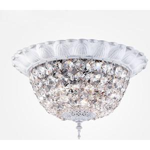 Потолочный светильник Eurosvet 10067/5 белый с серебром Strotskis
