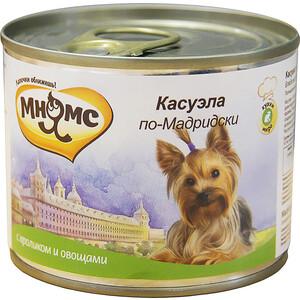 Консервы Мнямс Касуэла по-Мадридски с кроликом и овощами для собак 200г