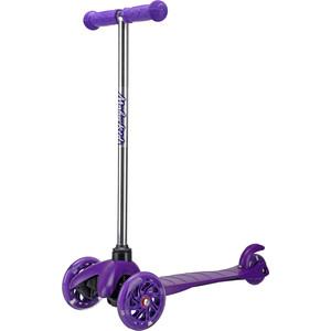 Самокат Moby Kids фиолетовый (64970)