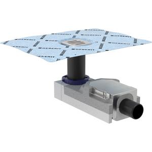 Душевой трап Geberit CleanLine в комплекте с решеткой, для стяжки пола 90-220 мм (154.050.00.1)