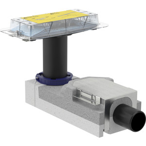 Фото - Душевой лоток Geberit CleanLine к дренажным каналам, для стяжки пола 90-220 мм (154.150.00.1) материалы для пола