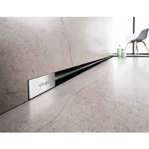 Дизайн-решетка Viega Advantix Vario для душевого лотка в стену 30-120 см, хром матовый (736569)