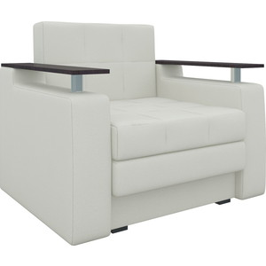 Кресло-кровать АртМебель Комфорт эко-кожа белый кресло кровать артмебель комфорт эко кожа черный