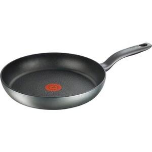 Сковорода Tefal Hard Titanium+ C6920602 круглая 28см ручка несъемная (без крышки) черный (2100096667) набор сковородок tefal hard titanium c6929072 21 28см 2 предмета 2100097995