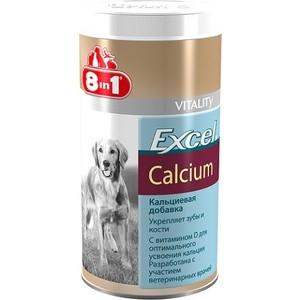 Добавка к пище 8in1 Excel Calcium кальций укрепление зубов и костей для собак 470таб