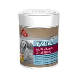Мультивитамины 8in1 Excel Multi Vitamin Small Breed для собак мелких пород 70таб