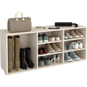 цена на Полка для обуви Мастер Лана-3 ПОЛ-3 (1С+2П) (дуб молочный) МСТ-ПОЛ-1С-2П-ДМ-16