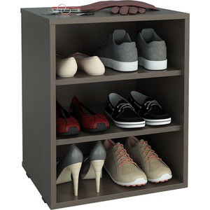 цена на Полка для обуви Мастер Лана-1 (ПОЛ-1П) (венге) МСТ-ПОЛ-1П-ВМ-16