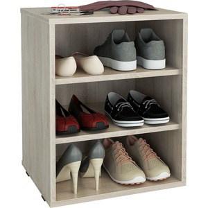цена на Полка для обуви Мастер Лана-1 (ПОЛ-1П) (дуб сонома) МСТ-ПОЛ-1П-ДС-16